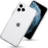 Hoesje voor Apple iPhone 11 Pro, gel case, volledig doorzichtig