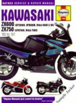 Kawasaki ZXR750 (Ninja ZX-7 and ZXR750) Fours Service and Repair Manual