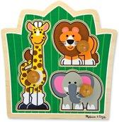 Melissa & Doug - Jungle Friends Large Legpuzzel