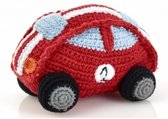 Pebble rammelaar - race auto