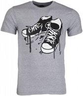 Mascherano T-shirt - Sneakers - Grijs - Maat: L