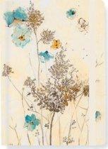 Watercolor Flowers notitieboekje