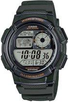 Casio AE-1000W-3AVEF - Horloge - Kunststof - GROEN- Ø 43.7 mm