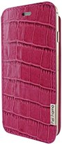 Piel Frama iPhone 6/6S FramaSlim Croco Fuchsia