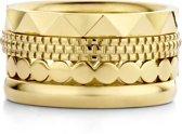 Melano Friends cadeauset 2 - goudkleurig - dames - maat 56