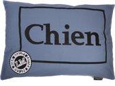 Lex & Max Chien - Losse hoes voor hondenkussen - Rechthoek - 100x70cm - Fadedblue