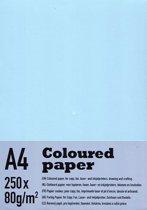 gekleurd papier - 80 grams - 500 vel A4 - 5 kleuren