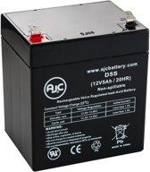 AJC® battery compatibel met Enduring CB-4.5-12 12V 5Ah Lood zuur accu