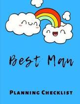 Best Man Planning Checklist