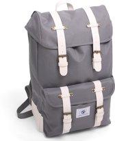 Dunga 8158 Vintage Backpack Deluxe Rugzak - Grijs