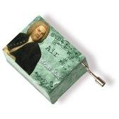 Music box Bach green