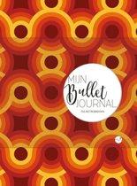 Mijn Bullet Journal - 70s Retrobrown + 4 stuks Gel Inkt Pennen Zebra Sarasa verpakt in een Zipperbag
