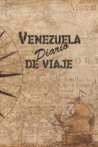 Venezuela Diario De Viaje: 6x9 Diario de viaje I Libreta para listas de tareas I Regalo perfecto para tus vacaciones en Venezuela