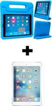 BTH iPad 5/6 Kinderhoes Kidscase Cover Hoesje En Screenprotector Blauw