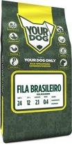 Yourdog fila brasileiro hondenvoer volwassen 3 kg
