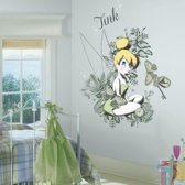 RoomMates Disney Fairies Vintage Tinker Bell - Muurstickers - Multi