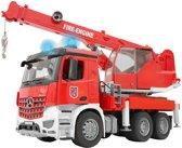 Bruder 03675 - Mercedes-Benz Arocs brandweerwagen met kraan - Kraanwagen