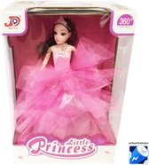 Little Dancing Princess - Speelgoed pop -prinsesje met lichtjes en muziek - Roze (incl. batterijen)