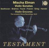 Violin Sonates-Compl.Decca Rec.Vol2