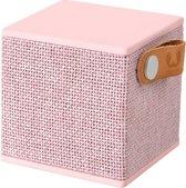 Fresh 'n Rebel Rockbox Cube Fabriq - Draadloze Bluetooth Speaker - Roze