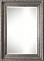 Qweens - Spiegel - Gina- antiek zilver - buitenmaten breed 106 cm x hoog 206 cm.