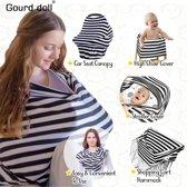 Borstvoedingsdoek- Maxi-cosi Beschermdoek  -  Windbeschermdoek-