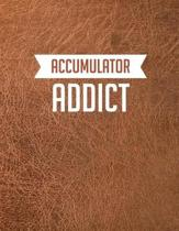 Accumulator Addict: Casino & Matched Betting Diary, Log - Custom Pages Username and Passwords for Each Bookie, Yearly, Monthly Profit Trac