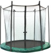 Jumpline Veiligheidsnet Trampoline - 244 cm - Groen