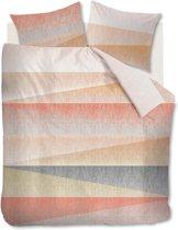 Beddinghouse Cascadas - Dekbedovertrek - Lits-jumeaux - 240x200/220 cm - Koraal