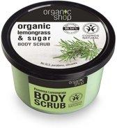 Organic Shop Body Scrub Provence Lemongrass 250ml.