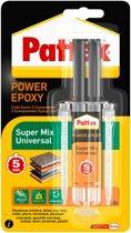 Pattex Professional twee componentenlijm SuperMix Universal - 2 componentenlijm - 11 ml