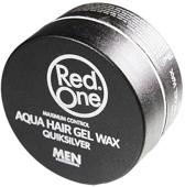 Red One Aqua Hair Wax - Zwart
