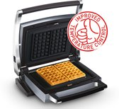 Combi wafel maker Belgische wafles 4x7 CW2438