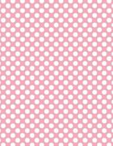Polka Dots - Pale Pink 101 - Lined Notebook with Margins 8.5x11