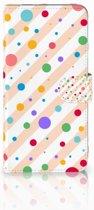 Google Pixel XL Boekhoesje Design Dots