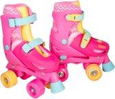 Rollerskates Roze - Imaginarium - Skates met 4 Wielen - Inclusief Tas - Verstelbare Maat (31-34) - Meisje