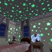 Glow in the dark sterren - Muurdecoratie - Lichtgevende - Kinderkamer - Glow in the dark stars - Home decor - Wall decoration - Children's room - Stars - Sterrenhemel