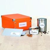 HERMA Etiketten wit 70x37 Premium A4 600 st.