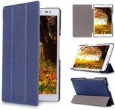 Asus ZenPad 8.0 Z380 Tri-Fold Book Case Donker Blauw