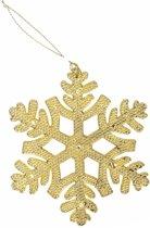 Hangdecoratie goud 10 cm - gouden kerstboomhanger