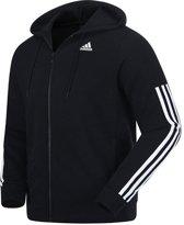 Adidas Comm M Full Zip FL BR4074, Mannen, Zwart, Sporttrui casual maat: S EU