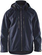 Blåkläder 4890-1977 Lichtgewicht functionele jas Donker marineblauw/Zwart maat XXXL