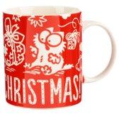 Kerstbeker simon's cat - meowy christmas-