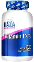 Vitamin D-3 400IU Haya Labs 100softgels