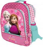 """Frozen schooltas 41cm """"My Sister My hero"""" roze"""