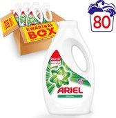 Ariel Original - Kwartaalbox 4 x 20 Wasbeurten - Vloeibaar Wasmiddel