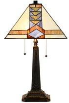 Tiffany Tafellamp Pyramide