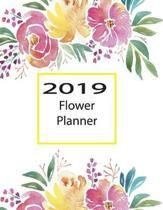 2019 Flower Planner