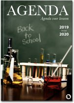 Lerarenagenda / docentenagenda 2017-2018 Hardcover Back to School