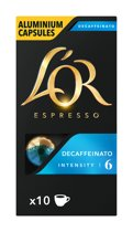 L'OR Decaffeinato koffiecups - 10 x 10 cups